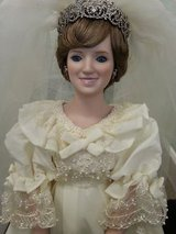 Danbury Mint Princess Diana Wedding Doll in Camp Lejeune, North Carolina