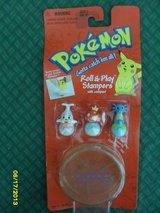 REDUCED Collectors Sets Pokemon Roll & Play Stampers NIB MINT in Oswego, Illinois
