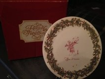 Holiday Tradition Plate and holder in Kingwood, Texas