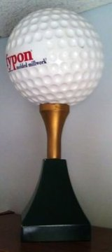 "GOLF BALL  11""   ON  LARGE TEE in Bolingbrook, Illinois"