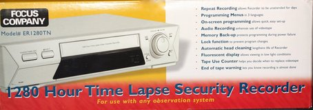 Time Lapse Security Video Recorder in Ramstein, Germany