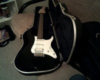 new-yamaha pacifica, ele.guitar+hard shell case never played..$350.00firm in 29 Palms, California