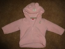 Reduced! Carter's Sherpa Jacket/Coat- Pink (3-6 months) in Shorewood, Illinois