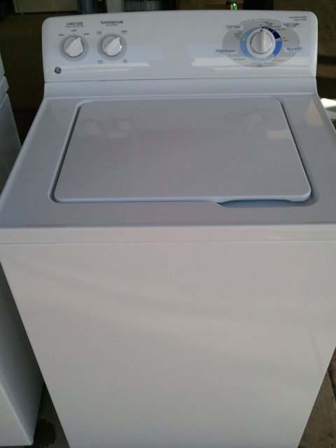 King Size Ge Top Load Washer Stainless Drum Like New Works